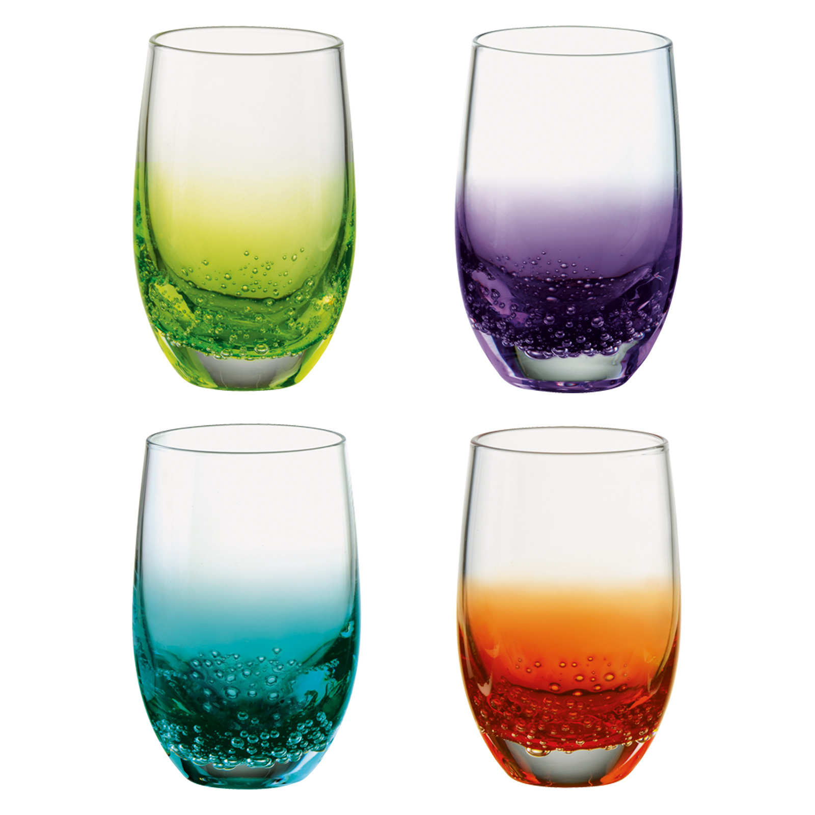 Set of 4 Fizz Shot Glasses by Anton Studio Designs