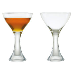 Set of 2 Manhattan Cocktail Glasses by Anton Studio Designs