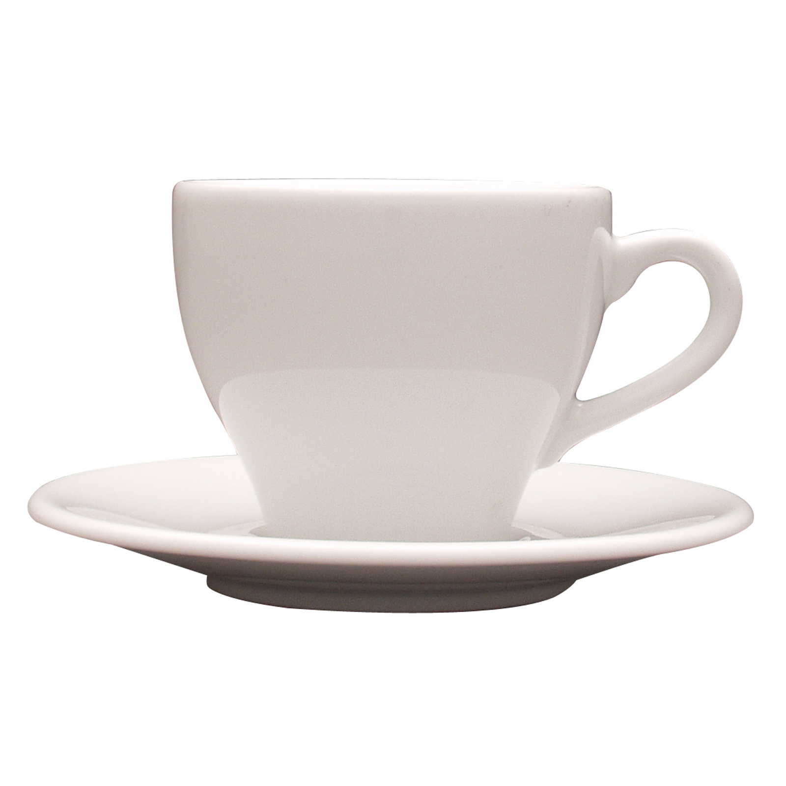 Set of 24 Paula Cappuccino Saucers by Lubiana