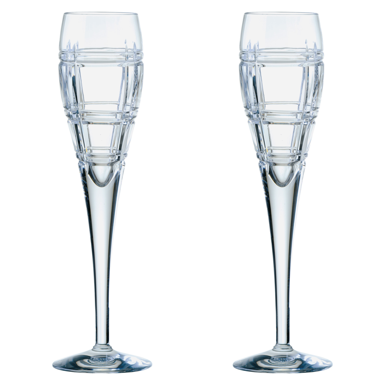 Set of 2 Latitude Champagne Flutes