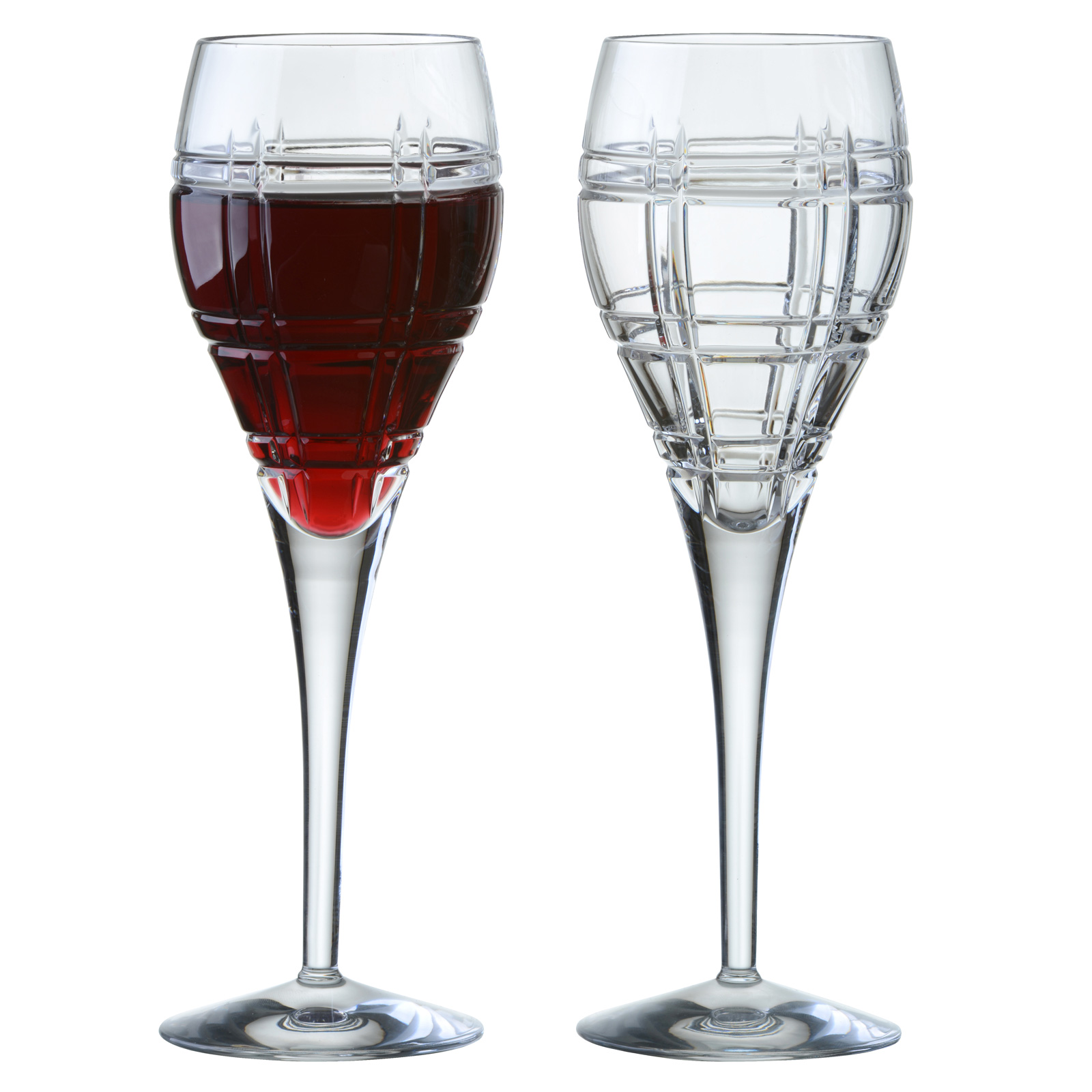 Set of 2 Latitude Wine Glasses