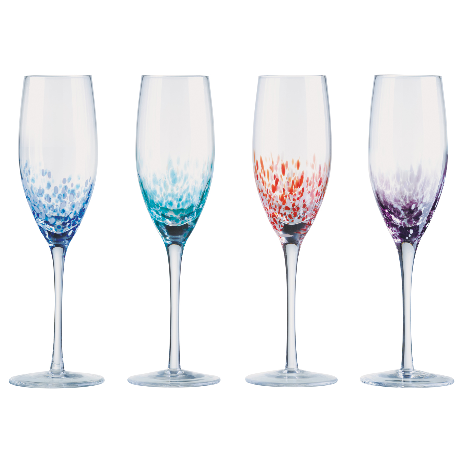 Set of 4 Speckle Gin Glasses by Anton Studio Designs