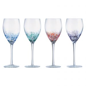 Speckle Wine Glasses by Anton Studio Designs