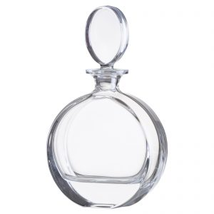 Plain Disc Decanter by Bohemia