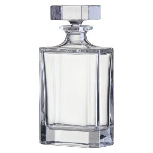 Plain Rectangular Decanter by Bohemia