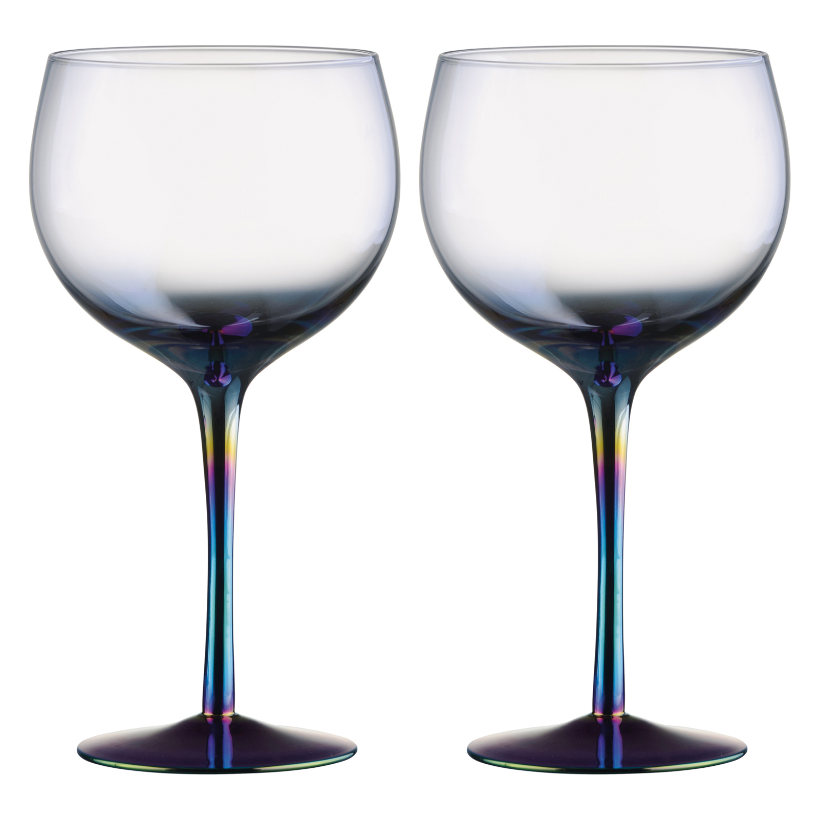 Set of 2 Mirage Gin Glasses by Artland