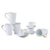 Lux Mugs and espresso cups