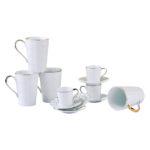 Lux Mugs and espresso cups