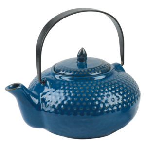 Oriental Hobnail Teapot