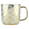 Set of 4 Fan Mugs Gold by BIA