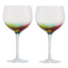 Set of 2 Neon Flutes by Artland