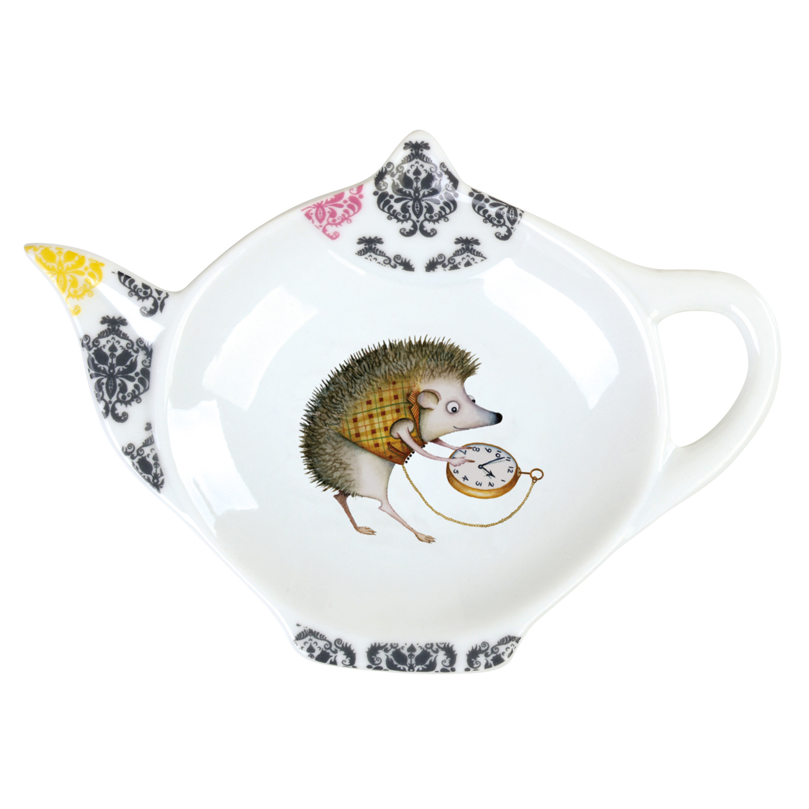 Funimals Hedgehog Teabag Tidy by Clare Mackie for BIA