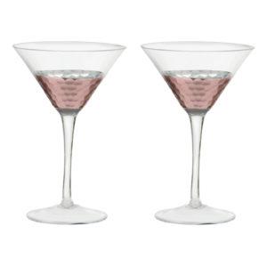 Set of 2 Coppertino Martinis by Artland