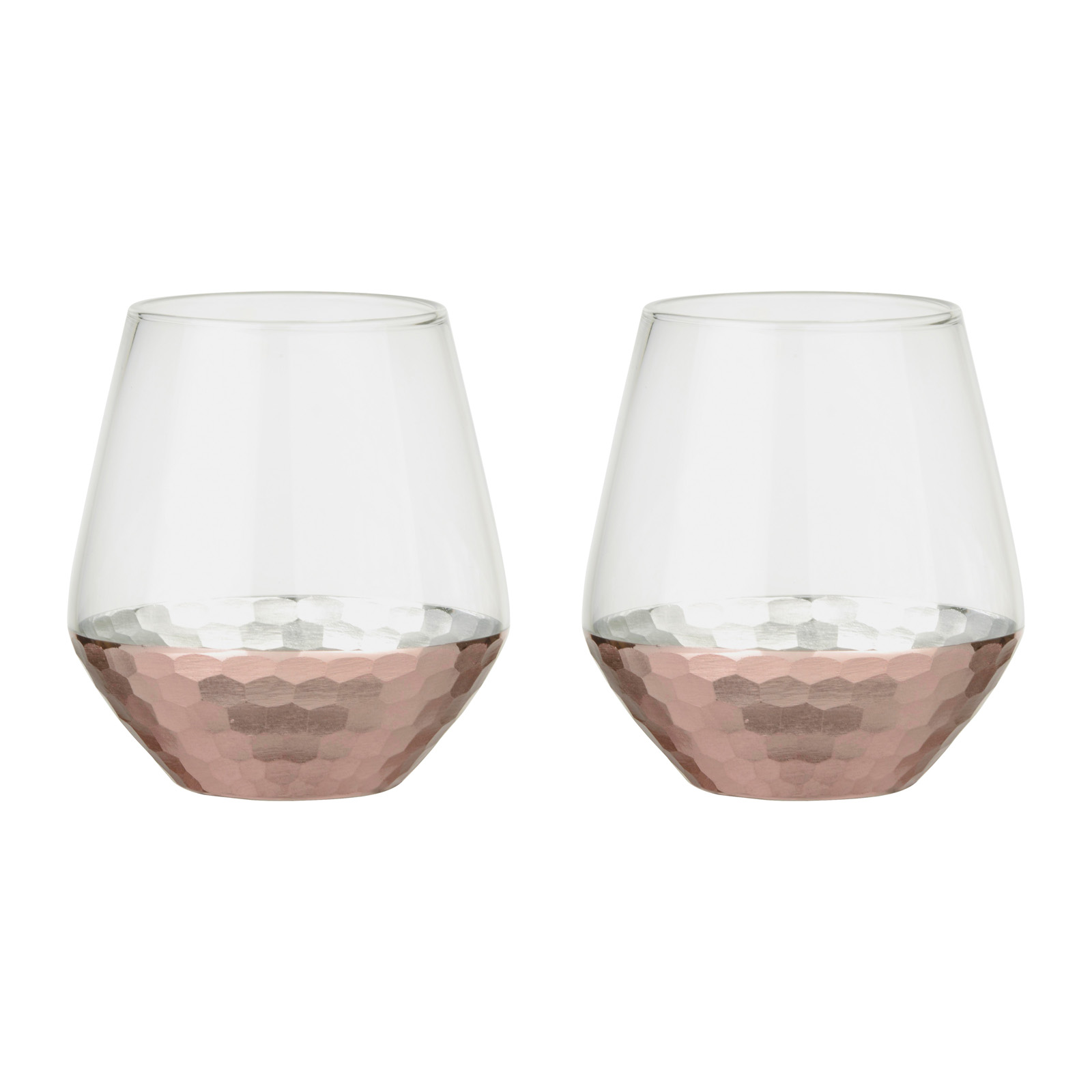 Set of 2 Coppertino DOF Tumblers by Artland