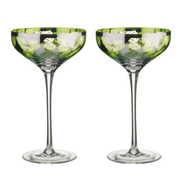 Set of 2 Champagne Saucers