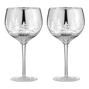 Alpine Gold Wine Glasses - Set of 2
