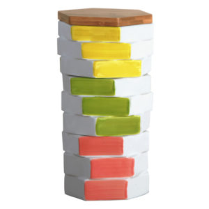 Totem Food Storage Jar - Square